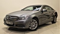 USED 2012 62 MERCEDES-BENZ E CLASS 3.0 E350 CDI BLUEEFFICIENCY SE 2d AUTO 265 BHP + 1 PREV OWNER + AIR CON + AUX + BLUETOOTH