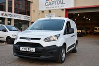USED 2015 15 FORD TRANSIT CONNECT 1.6 200 P/V 5d 74 BHP LR SWB FWD ONE OWNER FROM NEW, FULL SERVICE HISTORY
