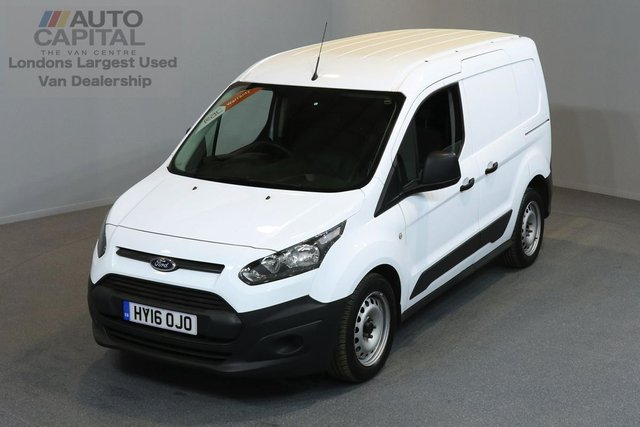 2016 16 FORD TRANSIT CONNECT 1.6 200 P/V 2d 74 BHP LR SWB FWD ELECTRIC WINDOWS ONE OWNER FROM NEW