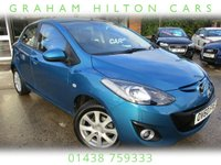 USED 2010 60 MAZDA 2 1.3 TS2 5d 83 BHP ONE PREVIOUS OWNER, AIR CON, ALLOYS, FULL SERVICE HISTORY, SPARE KEY