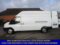 USED 2011 FORD TRANSIT 125 350 LWB HIGH ROOF FWD WITH FULL HISTORY