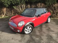 2008 MINI HATCH COOPER 1.6 COOPER 3d 118 BHP £2500.00