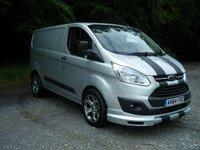 2014 FORD TRANSIT CUSTOM 2.2 270 TREND LR P/V 1d 124 BHP £13000.00