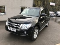 USED 2012 12 MITSUBISHI SHOGUN 3.2 DI-D SG3 5d AUTO 197 BHP *LWB**7 LEATHER SEATS**TOW BAR**SAT NAV**AUTO*