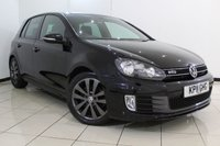 USED 2011 11 VOLKSWAGEN GOLF 2.0 GTD TDI 5DR 170 BHP VW SERVICE HISTORY + CLIMATE CONTROL + MULTI FUNCTION WHEEL + CLIMATE CONTROL + ELECTRIC WINDOWS + 17 INCH ALLOY WHEELS