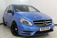 USED 2014 14 MERCEDES-BENZ B CLASS 1.5 B180 CDI BLUEEFFICIENCY SPORT 5DR AUTOMATIC 107 BHP FULL MERCEDES SERVICE HISTORY + 0% FINANCE AVAILABLE T&C'S APPLY + LEATHER SEATS + REVERSE CAMERA + BLUETOOTH + CRUISE CONTROL + MULTI FUNCTION WHEEL + 18 INCH ALLOY WHEELS