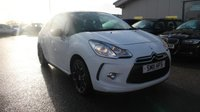 USED 2011 11 CITROEN DS3 1.6 DSTYLE 3d 120 BHP LOW DEPOSIT OR NO DEPOSIT FINANCE AVAILABLE.