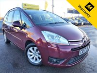 USED 2007 57 CITROEN C4 GRAND PICASSO 1.6 VTR PLUS HDI EGS 5d  110 BHP! p/x welcome! AUTO! BOTTLE CHILLER! PANORAMIC WINDSCREEN! TOW BAR! 2/F-KEEPERS! 7 SEATS! CRUISE & CLIMATE CONTROL! SUN-BLINDS! GOOD SERVICE HISTORY!  NEW MOT & SERVICE! AUTO+BOTTLE CHILLER+PANORAMIC WINSCREEN+2/F-KEEPERS+CRUISE & CLIMATE CNTRL+GOOD S-HIST+TOW-BAR+SUN BLINDS!
