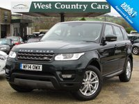 USED 2014 14 LAND ROVER RANGE ROVER SPORT 3.0 TDV6 SE 5d AUTO 258 BHP Low Mileage Sophisticated 4x4