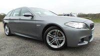 2014 BMW 5 SERIES 2.0 520D M SPORT TOURING 5d AUTO 188 BHP £13850.00