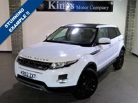 """USED 2013 62 LAND ROVER RANGE ROVER EVOQUE 2.2 SD4 PURE S 5dr Full Cream Leather,Heated Seats,  Upgraded 20"""" Alloys, Black Roof..."""