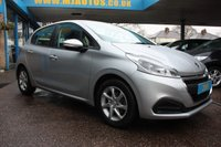 USED 2016 66 PEUGEOT 208 1.2 PURETECH S/S ACTIVE 5dr AUTO 82 BHP FINANCE + PCP + HP AVAILABLE