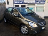 2010 MERCEDES-BENZ B CLASS 1.7 B180 BLUEEFFICIENCY SE £8495.00