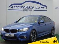 2013 BMW 3 SERIES 2.0 320D M SPORT GRAN TURISMO 5d AUTO 181 BHP £15450.00