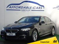 2013 BMW 5 SERIES 2.0 520D M SPORT 4d AUTO 181 BHP £14450.00