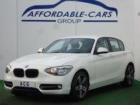 2014 BMW 1 SERIES 2.0 120D XDRIVE SPORT 5d 181 BHP £12250.00