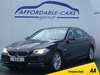 2013 BMW 5 SERIES 3.0 530D SE 4d AUTO 255 BHP £12450.00
