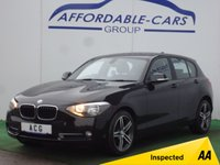 2014 BMW 1 SERIES 2.0 116D SPORT 5d 114 BHP £10750.00