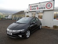 USED 2008 08 HONDA CIVIC 1.8 SE I-VTEC 5d 139 BHP £20 PER WEEK, NO DEPOSIT - SEE FINANCE LINK BELOW