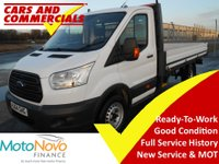 2014 FORD TRANSIT DROPSIDE 350 LWB L4 1-Stop 125ps  £12400.00