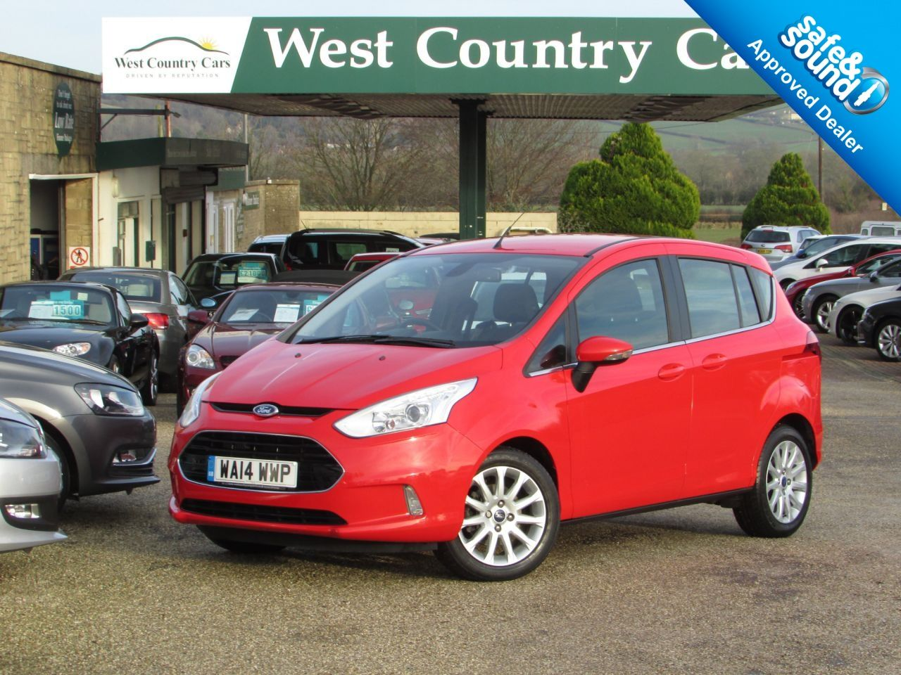 View Our Ford B Max