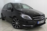 USED 2013 62 MERCEDES-BENZ B CLASS 1.8 B180 CDI BLUEEFFICIENCY SPORT 5DR 109 BHP MERCEDES SERVICE HISTORY + LEATHER SEATS + SPORT PACKAGE + REVERSE CAMERA + BLUETOOTH + MULTI FUNCTION WHEEL + 18 INCH ALLOY WHEELS