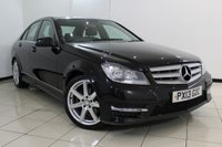 USED 2013 13 MERCEDES-BENZ C CLASS 2.1 C220 CDI BLUEEFFICIENCY AMG SPORT 4DR AUTOMATIC 168 BHP SERVICE HISTORY + 0% FINANCE AVAILABLE T&C'S APPLY + PARKING SENSOR + BLUETOOTH + MULTI FUNCTION WHEEL + CLIMATE CONTROL + ALLOY WHEELS