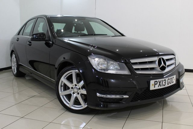 View our 2013 13 MERCEDES-BENZ C CLASS 2.1 C220 CDI BLUEEFFICIENCY AMG SPORT 4DR AUTOMATIC 168 BHP