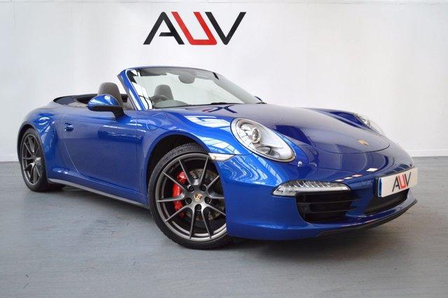 2012 62 PORSCHE 911 3.8 CARRERA 4S PDK 2d AUTO 400 BHP
