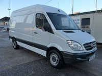 USED 2013 63 MERCEDES-BENZ SPRINTER 313 CDI MWB HI ROOF, 130 BHP [EURO 5], FULL SERVICE HISTORY, 1 COMPANY OWNER