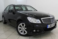 USED 2012 12 MERCEDES-BENZ C CLASS 2.1 C220 CDI BLUEEFFICIENCY SE 4DR 168 BHP SERVICE HISTORY + PARKING SENSOR + BLUETOOTH + CRUISE CONTROL + MULTI FUNCTION WHEEL + CLIMATE CONTROL + 16 INCH ALLOY WHEELS