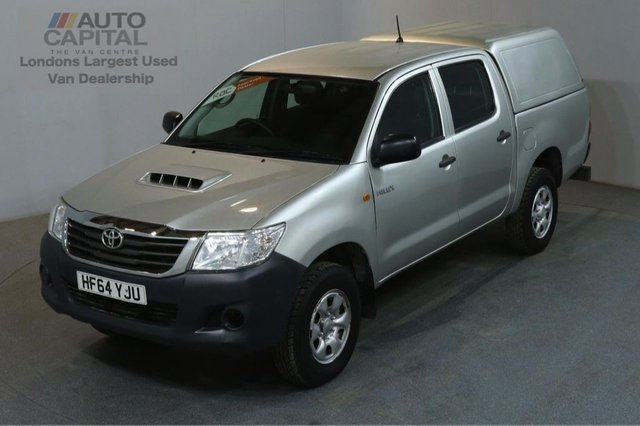 2014 64 TOYOTA HI-LUX 2.5 ACTIVE 4X4 D-4D 142 BHP MWB A/C ONE OWNER FROM NEW, FULL SERVICE HISTORY