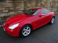 2008 MERCEDES-BENZ SLK 1.8 SLK200 KOMPRESSOR 2d AUTO 161 BHP £8000.00