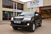 USED 2016 65 TOYOTA HI-LUX 3.0 INVINCIBLE 4X4 D-4D DCB 5d AUTO 171 BHP A/C NAVI R. CAM ONE OWNER FROM NEW, FULL SERVICE HISTORY