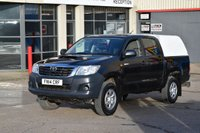 USED 2014 14 TOYOTA HI-LUX 2.5 ACTIVE 4X4 D-4D DCB 5d 142 BHP MWB A/C REVERSE CAMERA ONE OWNER FROM NEW