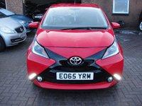 2015 TOYOTA AYGO 1.0 VVT-I X-PRESSION X-SHIFT 5d AUTO 69 BHP £6480.00