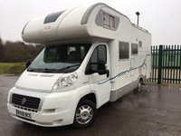 USED 2009 59 FIAT DUCATO 2.3 35 MULTIJET 1d ADRIA CORAL MOTORHOME  NOW SOLD.
