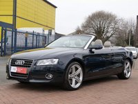 "USED 2010 60 AUDI A5 2.0 TDI SE 2d  DUE IN .............ONE OWNER ~ FULL SERVICE HISTORY ~ 19"" QUATTRO ALLOYS ~ FULL HEATED LEATHER ~ SAT NAV ~ BLUETOOTH ~ CRUISE CONTROL"
