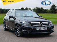 2013 MERCEDES-BENZ C CLASS 2.1 C200 CDI BLUEEFFICIENCY AMG SPORT PLUS 5d 135 BHP £14999.00