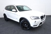 USED 2012 12 BMW X3 2.0 XDRIVE20D SE 5d AUTO 181 BHP