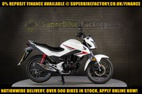 USED 2017 17 HONDA CBF125 125CC 0% DEPOSIT FINANCE AVAILABLE GOOD & BAD CREDIT ACCEPTED, OVER 500+ BIKES IN STOCK