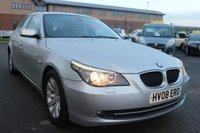 USED 2008 08 BMW 5 SERIES 2.0 520D SE 4d AUTO 175 BHP * LOW DEPOSIT OR NO DEPOSIT AVAILABLE  *