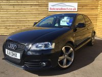 USED 2011 11 AUDI A3 2.0 TDI S LINE SPECIAL EDITION 3d 1 PREVIOUS OWNER