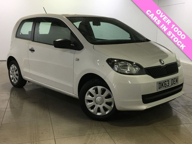View our 2013 63 SKODA CITIGO 1.0 S 12V 3d 59 BHP