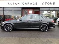 USED 2012 62 MERCEDES-BENZ C CLASS 6.2 C63 AMG 4d AUTO 457 BHP **F/MB/S/H * SUNROOF** ** FULL MERCEDES SERVICE HISTORY * SUNROOF * HARMON KARDON **