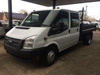 2014 FORD TRANSIT 2.2 350 DRW 1d 100 BHP Tipper £8495.00