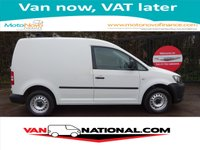 2013 VOLKSWAGEN CADDY 1.6 C20 PLUS TDI 75BHP (ONE OWNER FULL SERVICE HISTORY) £4989.00