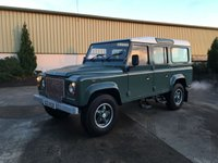 USED 2009 LAND ROVER DEFENDER 110 2.4 TDCI 'HERITAGE' FINISH 'HERITAGE' FINISH, 7 SEATS, COLOUR CODED ALLOYS AND FRONT GRILLE