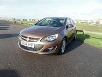 2014 VAUXHALL ASTRA 1.6 SRI 5 Dr AUTOMATIC 115 BHP 19800 miles 1 OWNER £8195.00