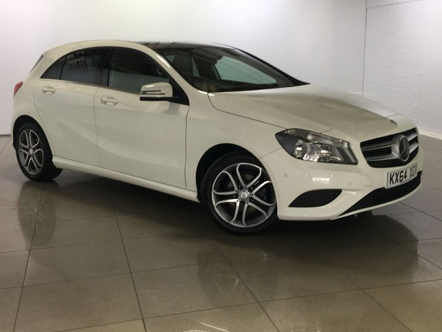 View our 2014 64 MERCEDES-BENZ A CLASS 1.5 A180 CDI BLUEEFFICIENCY SPORT 5d 109 BHP